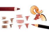 Cosmetic pencils — Stock Photo