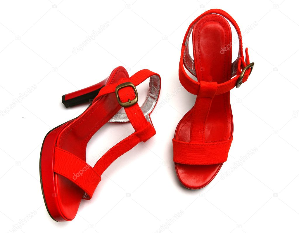 Gauze Decorate High Heel Black Apricot Red Shoes For Women