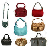 Color women bags — Stock Photo