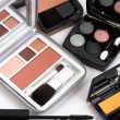 Stock Photo: makeup collection