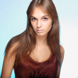 Beautiful teenager girl — Stockfoto