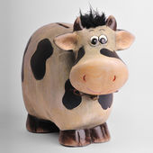 Cow moneybox — Stock Photo