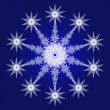 Snowflake — Stock Photo #1062225