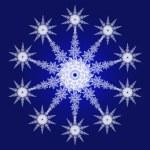 copo de nieve — Foto de Stock