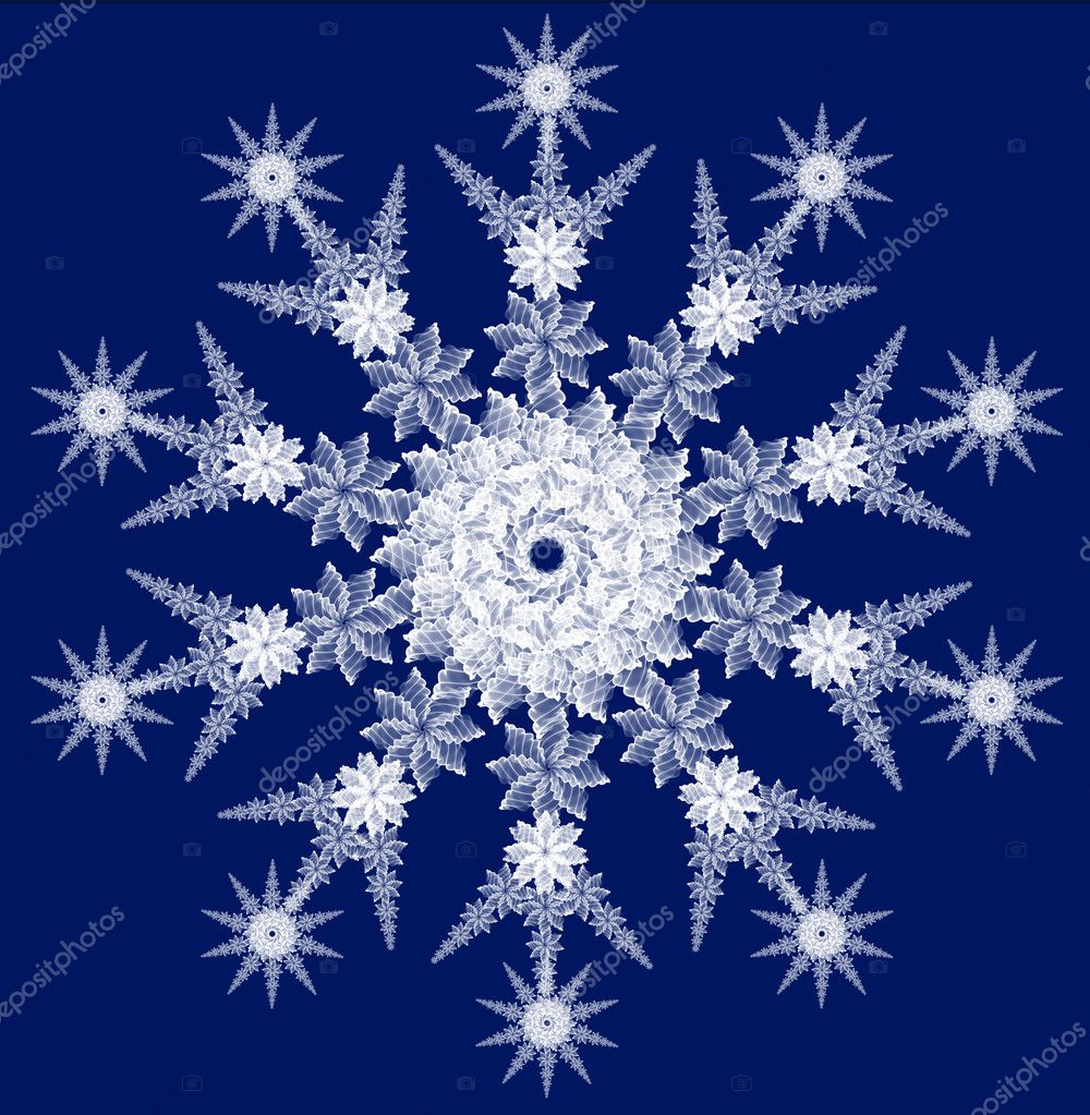 Snowflake for any design projects — Stockfoto #1062217