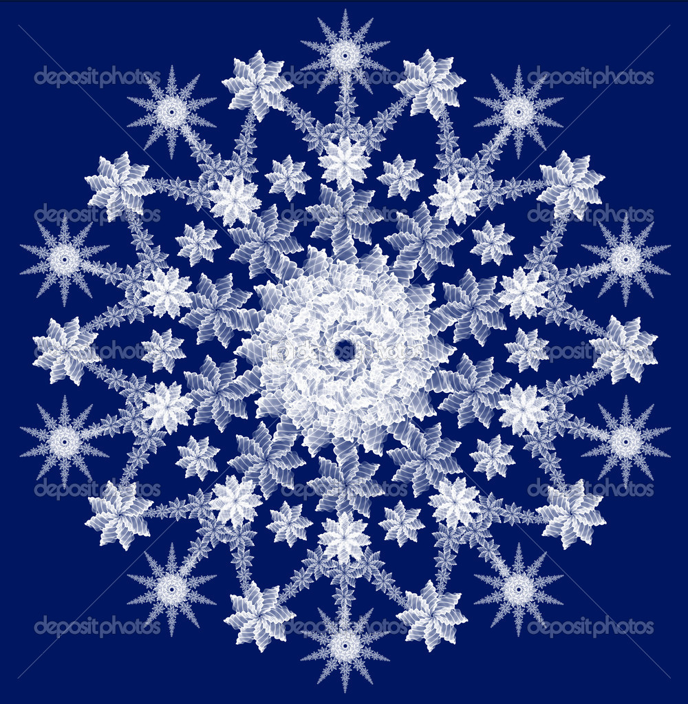 Snowflake for any design projects — Stock Photo #1062219