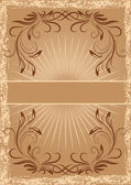 Card in retro style — Stock Vector