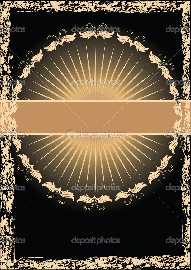 Background with ornament  for various design artwork — Stock Vector #1088429