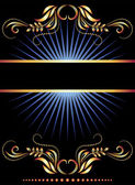 Background with ornament — Vector de stock