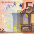 Stock Photo: 50 euro banknote
