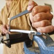Carpenter at work - Stockfoto