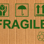 Cardboard texture — Stock Photo