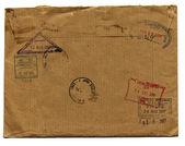 Grunge envelope — Stock Photo