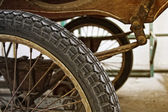 Detail of waggon — Stock Photo