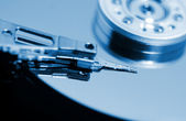 Hard disk detail image — Stock Photo