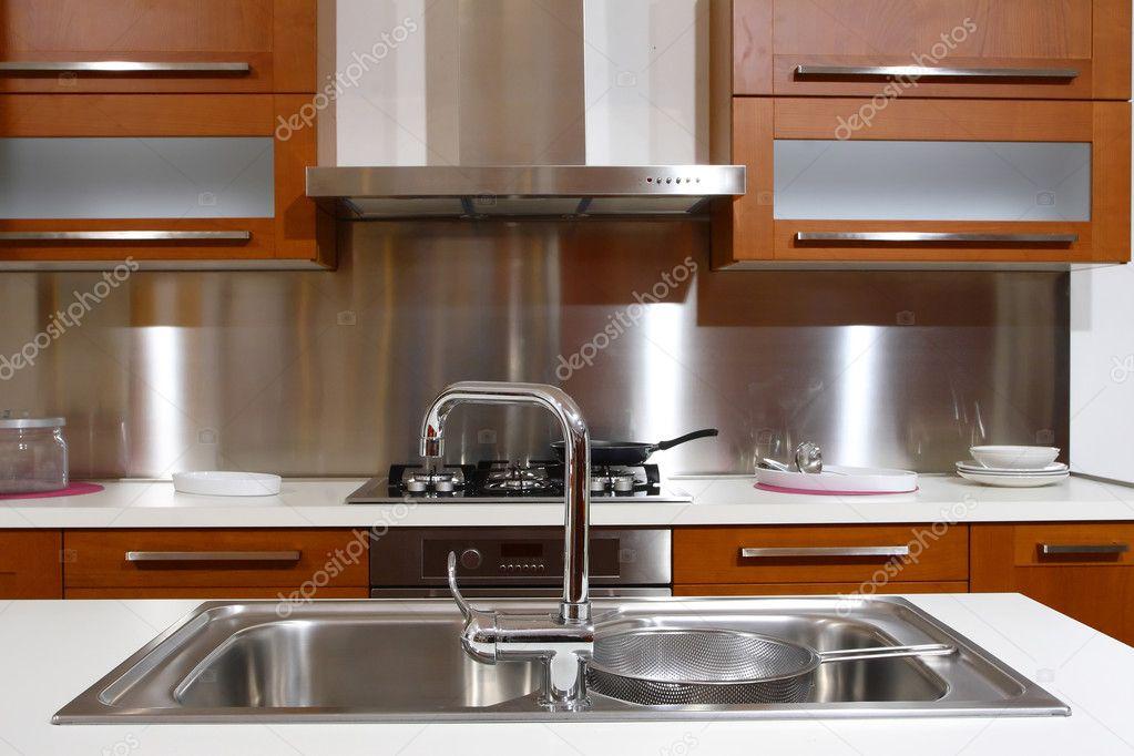 Gele keuken — stockfoto © jukai5 #1064423