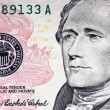 100 usa dollar closeup — Stock Photo