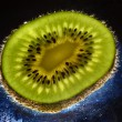 Fine image close up of kiwi background 0 — Stock Photo