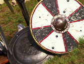 Ancient shield — Stock Photo