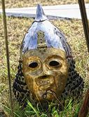 Golden helmet — Stock Photo
