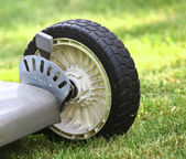Lawn Mower detail — Stock Photo
