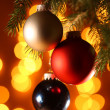 Fine image of christamas ball — Stockfoto
