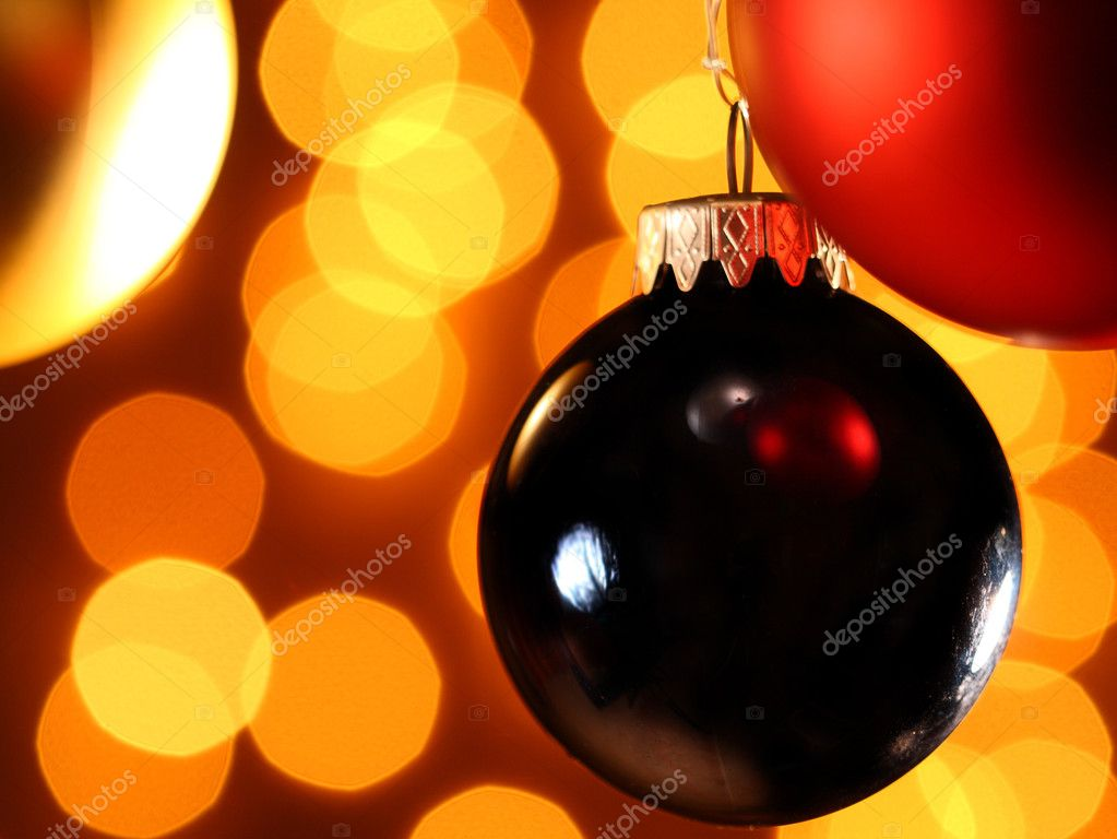 Fine image of christamas ball background — Stock Photo #1080812
