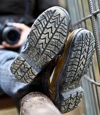Schuhe-detail — Stockfoto