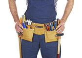 Tool belt detal — Stock Photo