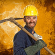 Miner manual worker — Stock Photo #1203884