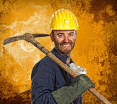 Miner manual worker — Stock Photo