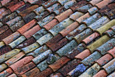 Old roof tile — Stock Photo