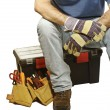 Manual worker tools — Stockfoto