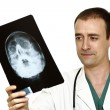 Royalty-Free Stock Photo: Doctor and x-ray