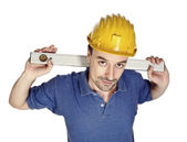Manual worker closeup — Stock Photo
