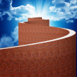way to heaven — Stock Photo