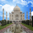 Taj mahal indimonument — Stock Photo #2342484