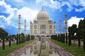 Taj mahal india monument — ストック写真