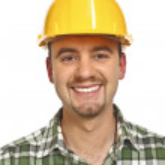 Smiling handyman portrait — Stock Photo #2382556