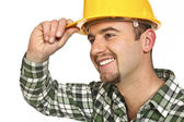 Friendly manual worker — Stock Photo