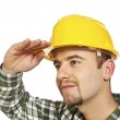 Worker looking forward — Stock Photo #2410756
