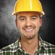 Smiling handyman portrait — Stock Photo #2431699