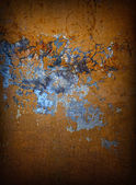 Grunge brown old wall — Stock Photo
