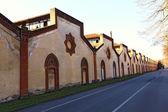 Old factory ruin in trezzo — Stock Photo