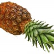 Pineapple background — Stock Photo