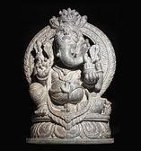 Ganesh hindu god isolated — Stock Photo