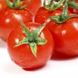 Red tomatoes background - Stock Photo