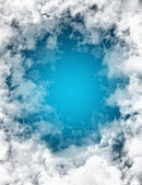 Clouds background — Stockfoto