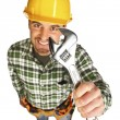 Manual worker portrait — Stock Photo #2678335