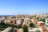 Panorama of the city of Jafo — Stock Photo